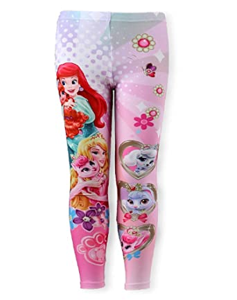 ff7f1204446f1 Disney Princess Girls Legging Tights Age 3 to 8 Years: Amazon.co.uk:  Clothing
