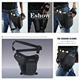Eshow Men's Drop Leg Pouch Tools Bags Tactical Leg