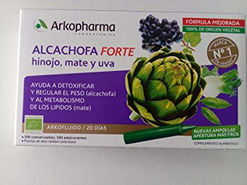 Arkocapsulas de alcachofa para adelgazar