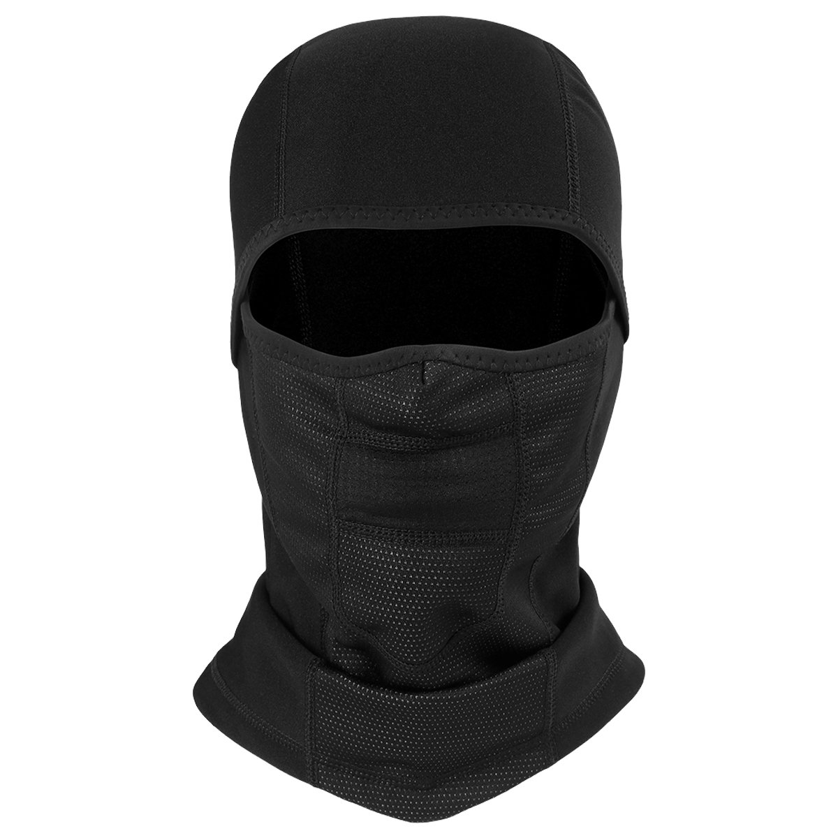 ECYC Outdoor Black Balaclava Mask Winter Waterproof Fleece Thermal Neck Warmer Full Face Masks Tactical Mask