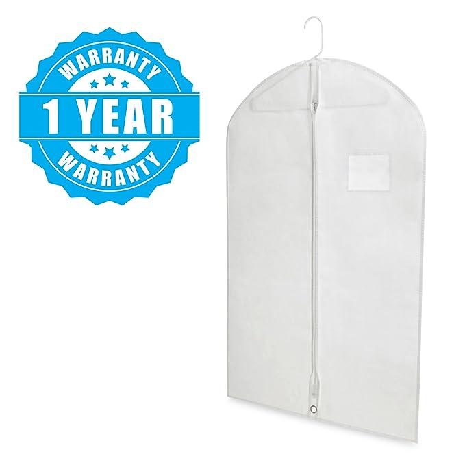 Amazon.com: Plixio - Bolsas para ropa de viaje, 40 pulgadas ...