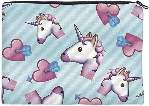 CHIPYHOME Estuche Escolar Unicornios Love lapiceros Bolis sacapuntas o Estuche Maquillaje cosmetica para Bolso Trabajo Viajes Vuelta al Cole, Universidad, Trabajo: Amazon.es: Juguetes y juegos