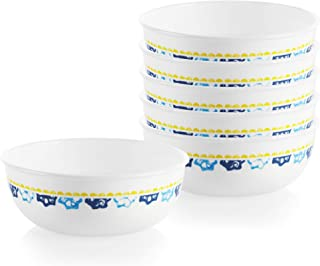 product image for Corelle Chip Resistant Dinnerware Set, 6-Piece, Boho Daydream