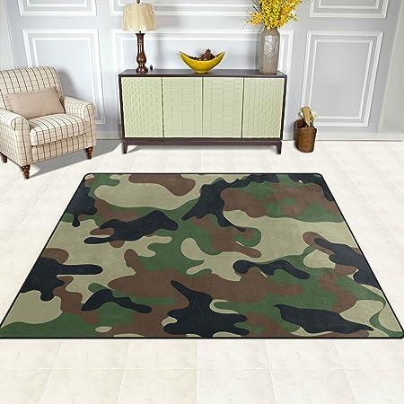 rugs sweet rug accent military com amazon designs baby floor green camo nursery dp area jojo