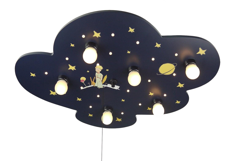 Niermann Standby Luz de techo de la nube XXL, diseño Principito E14, Azul: Amazon.es: Iluminación