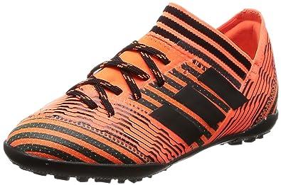 20e07e00b4a18 adidas Girls'' Nemeziz Tango 73 Tf J Footbal Shoes, Multicolor (Solar Orange