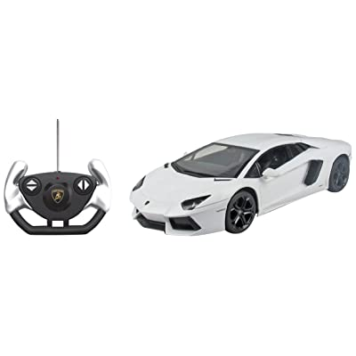 Kid Galaxy Lamborghini Aventador LP700 R/C Car, 1:14 Scale, White: Toys & Games