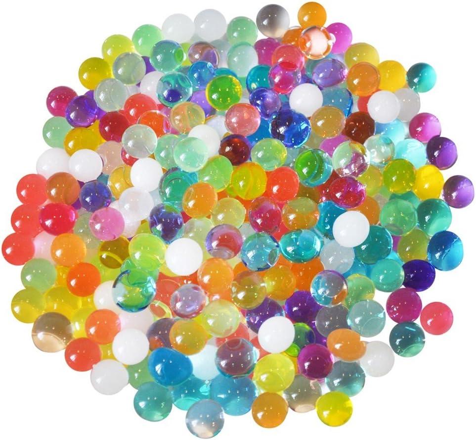 40,000 Pi/èces Perles deau Gel Eau du Sol D/écoration Gel/ée Color/é Jelly Eau Gemmes Vase Remplisseur pour la Maison