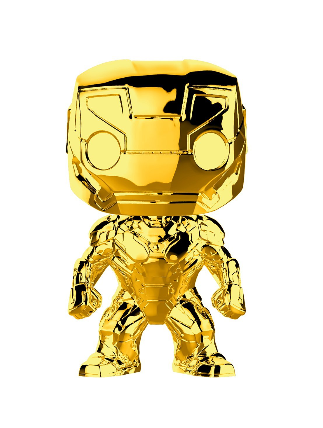 Funko Pop Marvel Studios 10 - Iron Man (Gold Chrome) Collectible Figure, Multicolor by Funko (Image #1)