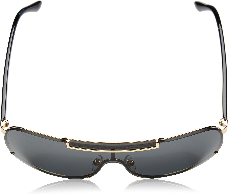 Versace Herren VE 2140 Rock Icons Greca Aviator Sonnenbrille