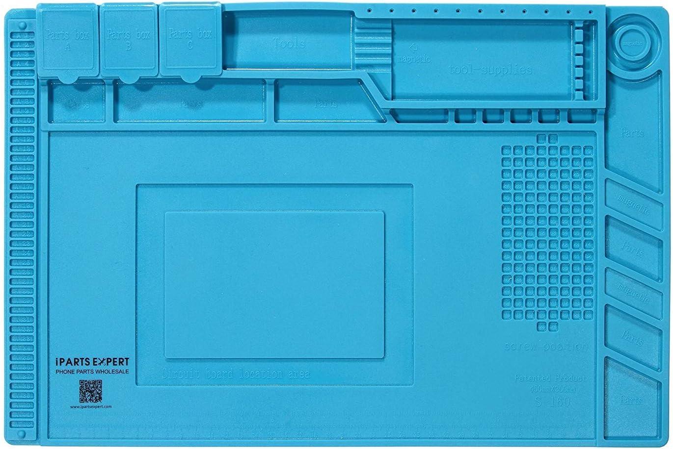 61 in 1 Magnetic Screwdriver Set Anti-Static Soldering Mat and 61 in 1 Magnetic Screwdriver Set