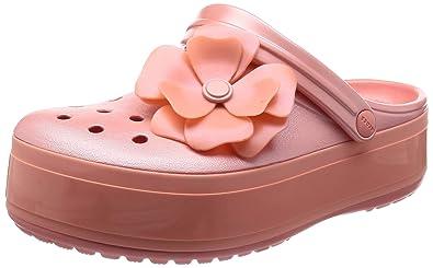 58643940b8abf Crocs Crocband Platform Vivid Blooms Clog