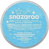 Snazaroo 1118481 Sparkle Face Paint, 18ml, Sparkle Turquoise