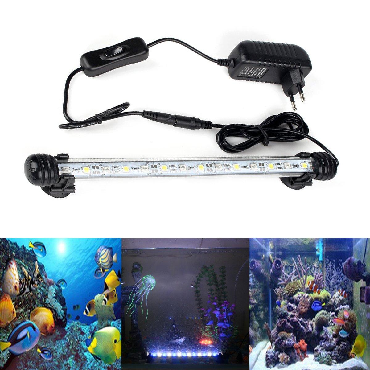 Aquarium Beleuchtung Steuerung   Greensun 38cm Aquarium Led Beleuchtung 16 Farb Rgb Steuerung Leuchte