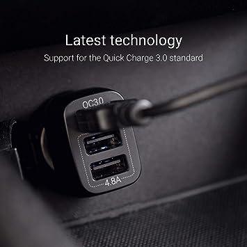 Green Cell Premium 42w 3 Port Usb Auto Ladegerät Elektronik