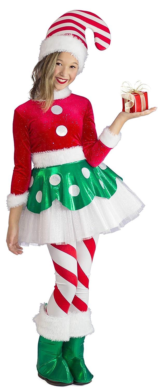 プリンセスパラダイス、Candy Cane Elf Princess 182T AS SAMPLE B071R2K87B