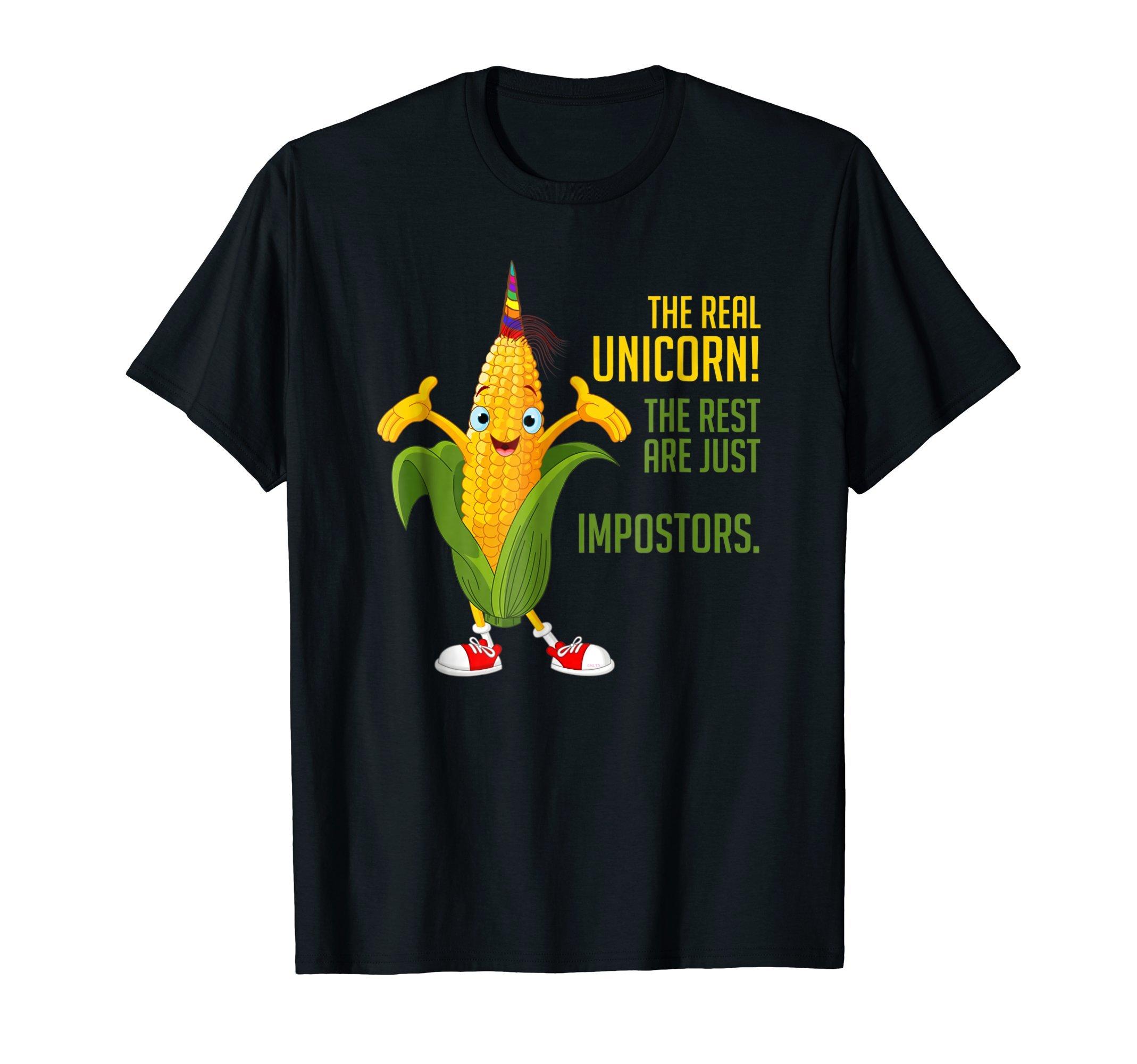The-real-Unicorn-Corn-on-the-Cob-T-Shirt-Tee-Shirt-Gift-Pun