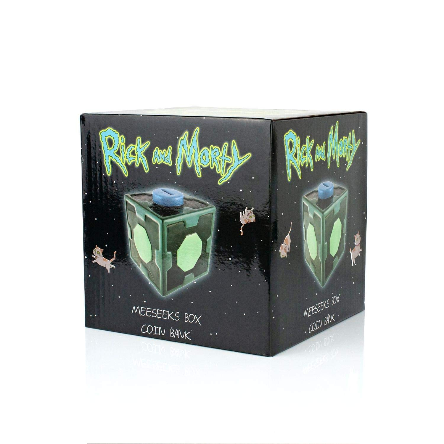 Rick and Morty Animated TV Series In A Flying Saucer Refrigerator Magnet  UNUSED