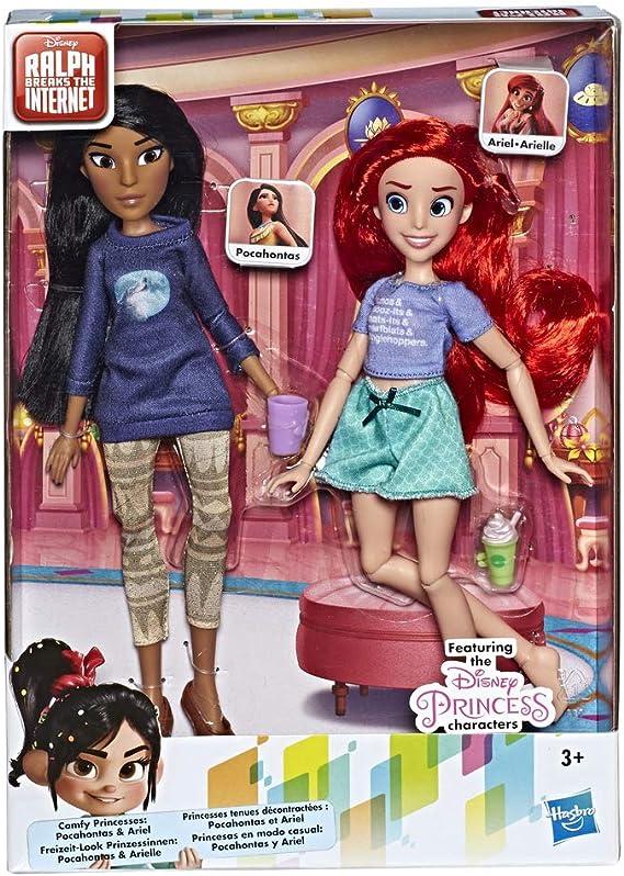Disney Princess - Paquete con Princesas Ariel & Pocahontas (Hasbro E7413ES0)