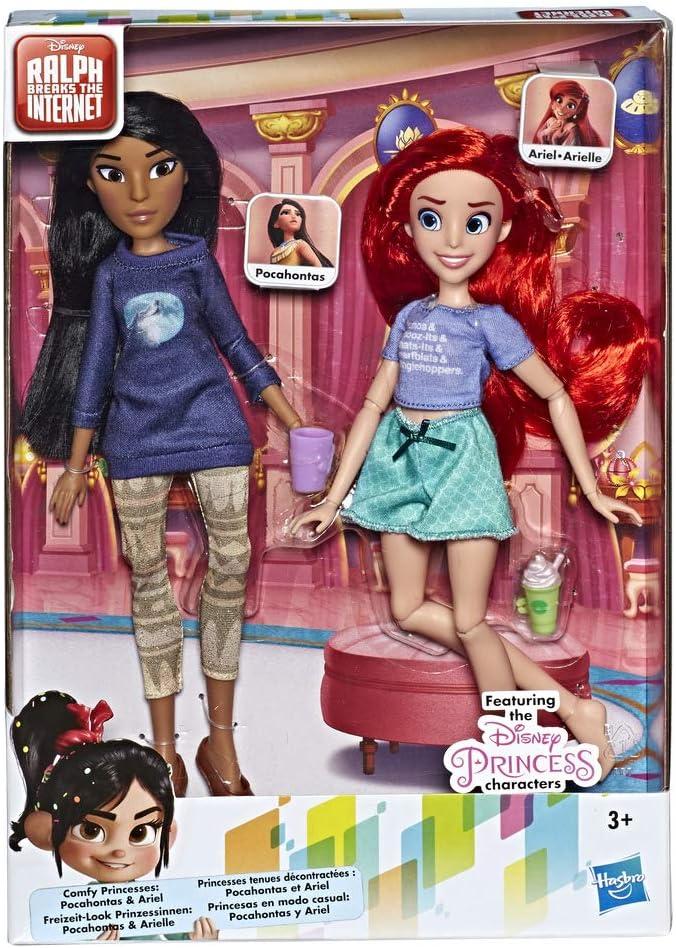Disney Princess - Paquete con Princesas Ariel & Pocahontas (Hasbro ...