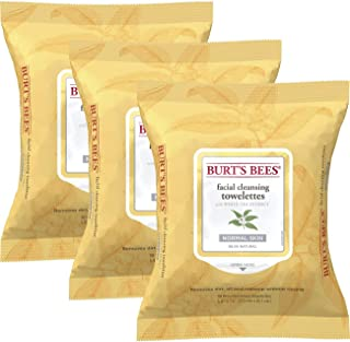 product image for Burt's Bees Sensitive Facial Cleansing Towelettes with White Tea Extract - 30 Count (Pack of 3)