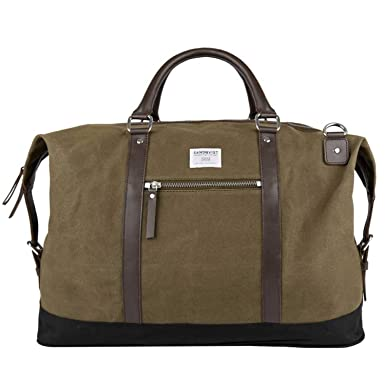 07d42fb624dd Image Unavailable. Image not available for. Color  Sandqvist Jordan Weekend  Bag - Waxed Olive