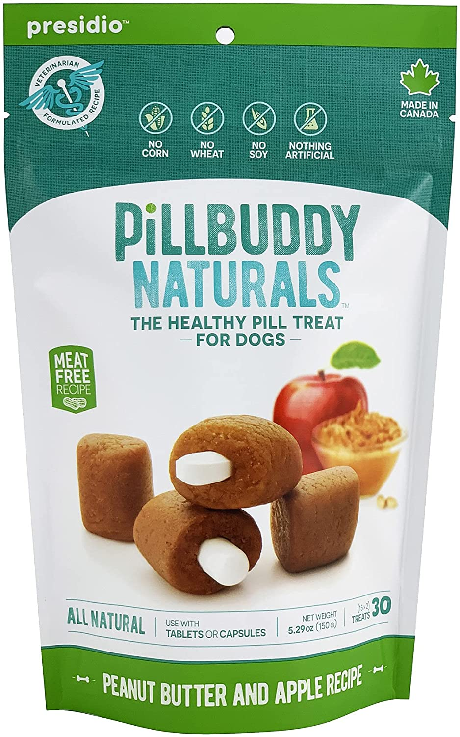 Pill Buddy Naturals, Recipe for Dogs, 1 Pack, 30-Count