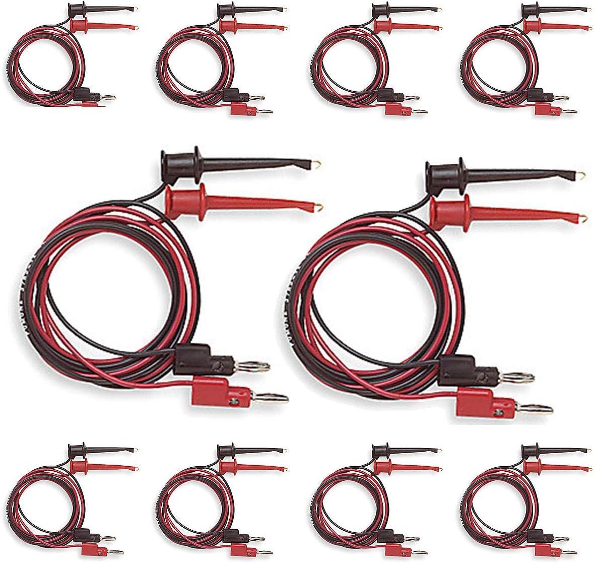 IC Hook to IC Hook Test Lead Set