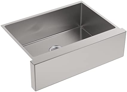 kohler k 5417 na strive self trimming undermount medium single bowl rh amazon com