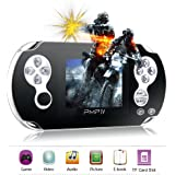 Handheld Games Console,YANX Classic Portable Video Game Player Built in Games, Support Arcade Games + GBA + SFC Games Kids Gift - Black