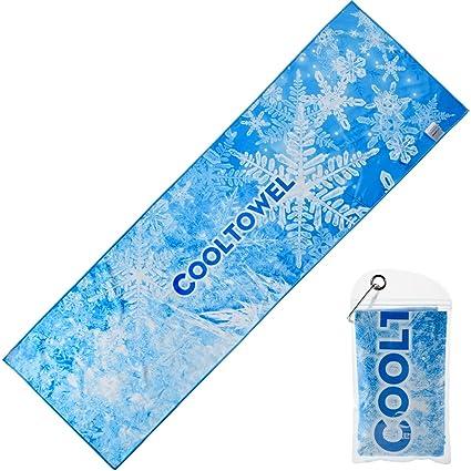 Amazon.com: Toalla de refrigeración instantánea, toalla de ...