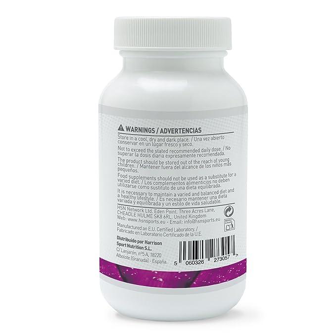Melatonina 1,8mg de HSN Essentials | Para dormir mejor | Mejor Descanso por la noche | Combate los trastornos del sueño, el estrés y la fatiga - 120 tabs: ...