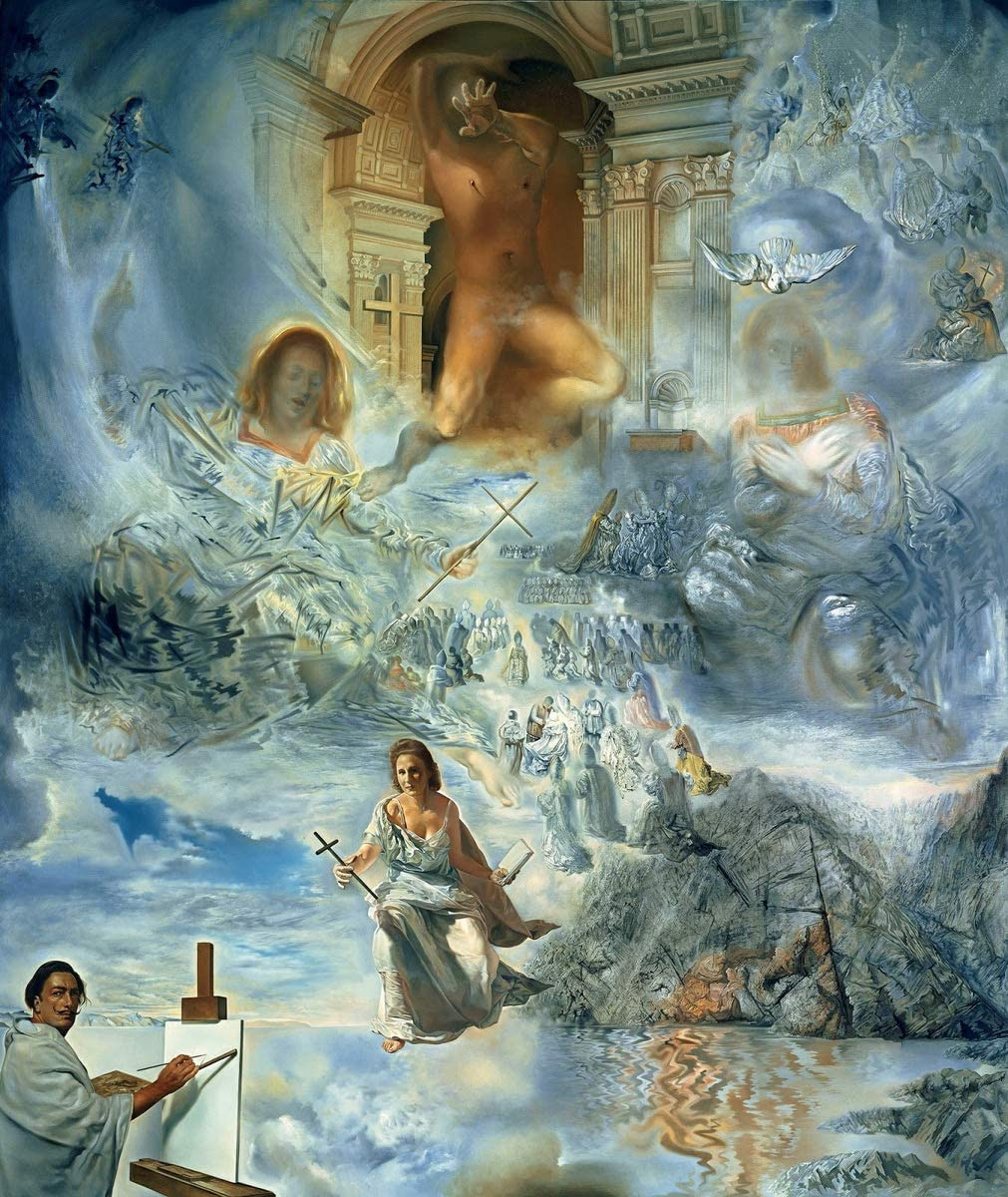 Salvador Dali Galatea of the Spheres Print Poster Giclee