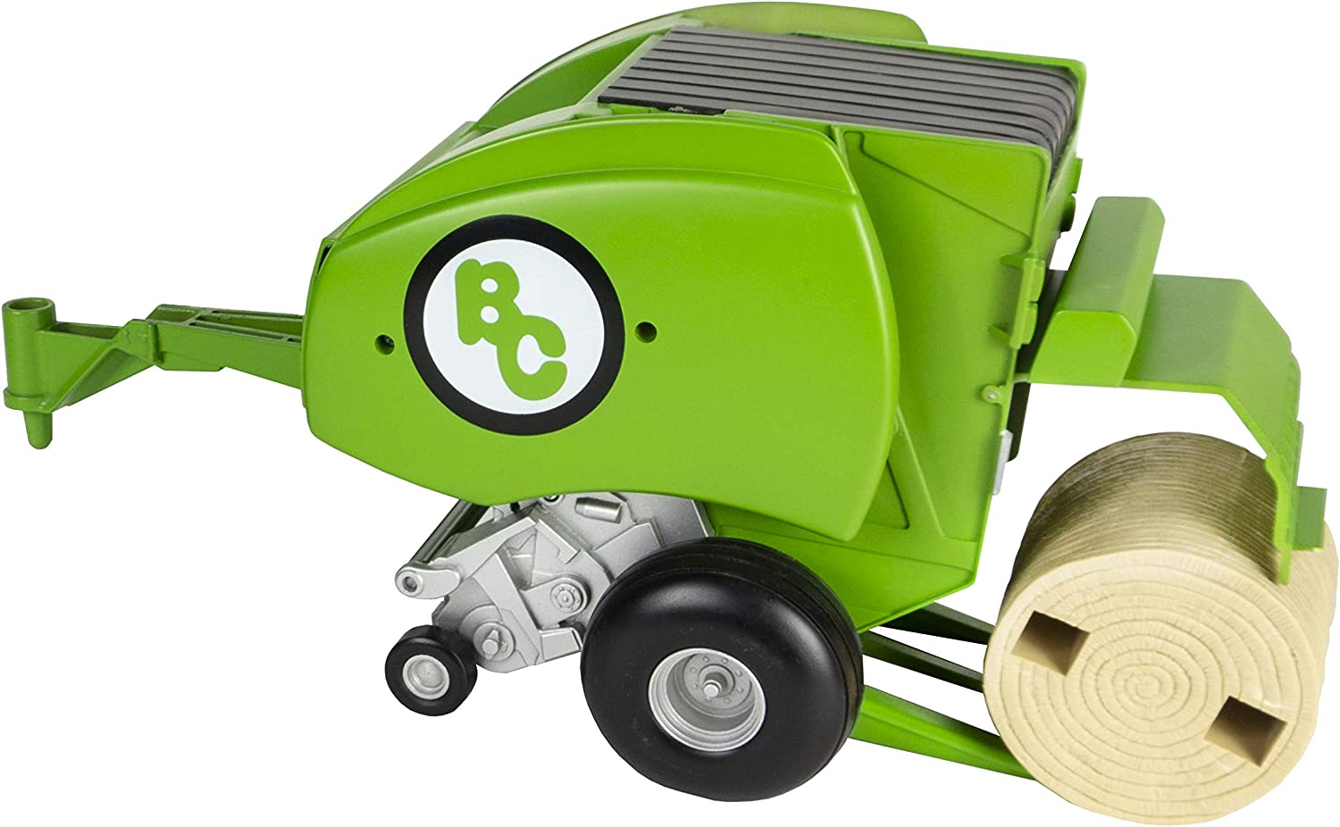 Durable /& Lifelike Proprietary Blend of Plastic Farm Toys Big Country Toys Round Baler Toy Hay Baler 1:20 Scale Playable /& Collectible