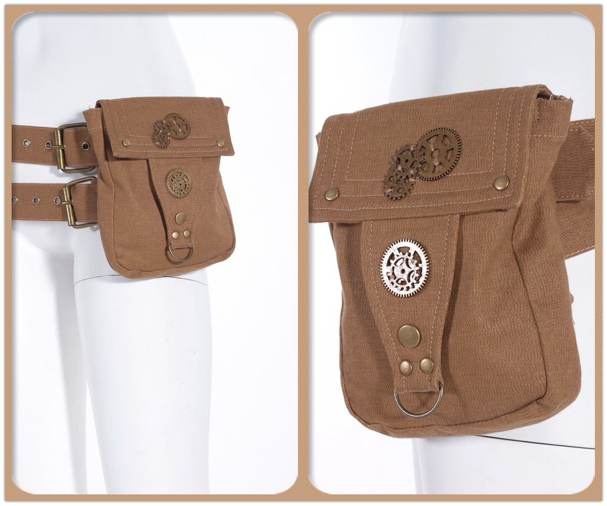 Amazon.com: Steampunk Cosplay Disfraces de escuela Mochila ...