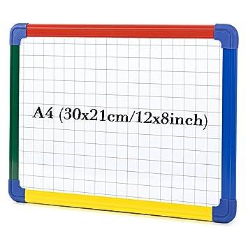 Pizarra blanca magnética planificador calendario papelería oficina proveedores de limpieza en seco aprendizaje de planificación semanal mensual ...