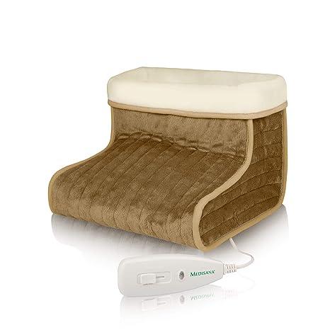 Medisana FWS Fußwärmer - mit flauschigem waschbarem Innenfutter - 3 Temperaturstufen - Abschaltautomatik nach 90 Minuten - mi