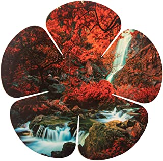 product image for 5 Petal Flower Waterfall Wall Art