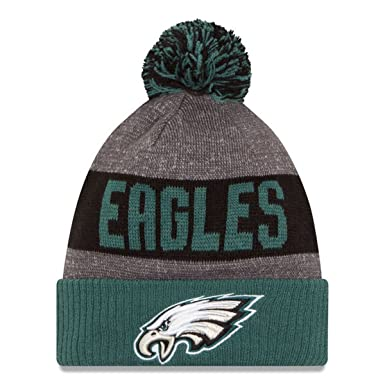 05fe21346ec New Era Youth Authentic Philadelphia Eagles NFL Football Beanie Hats 2016  Official Sideline On Field Junior