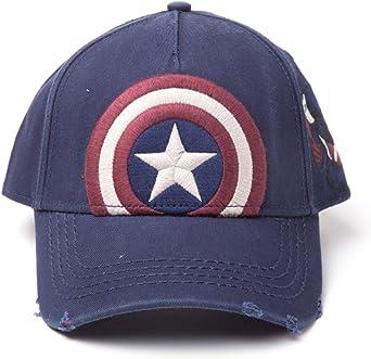 Bioworld EU Marvel Comics Captain America Embroidered Vintage ...