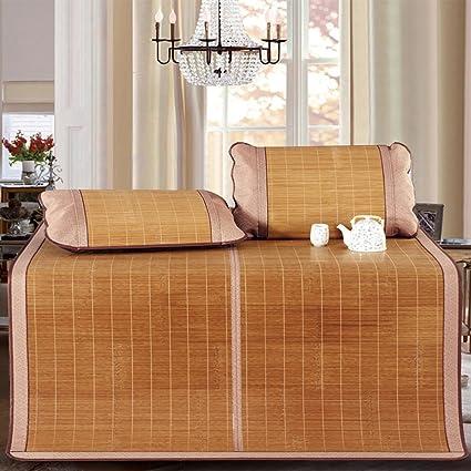 LWFB Colchoneta de verano para dormir / colchoneta de enfriamiento de bambú Colchoneta / tapete de