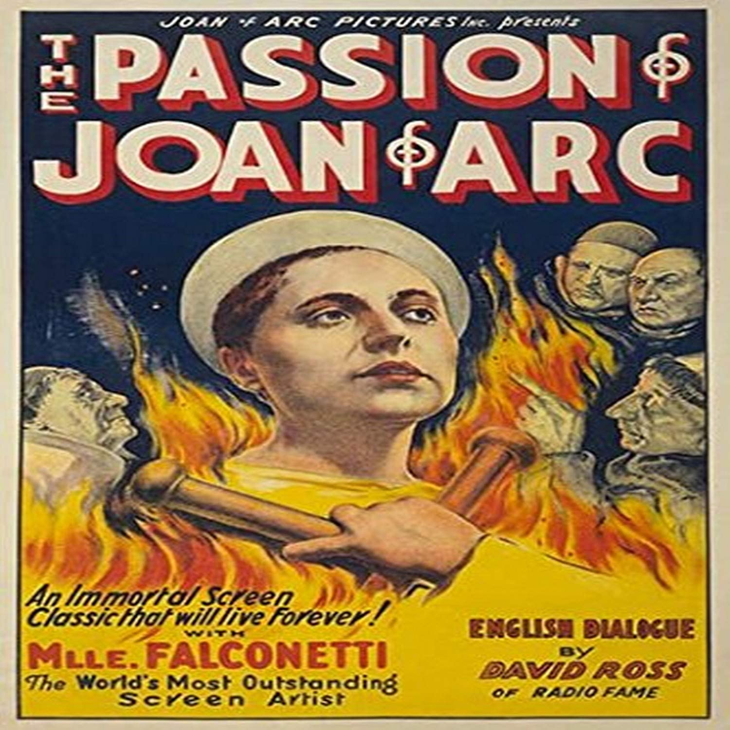 Amazon Com Buyenlarge The Passion Of Joan Of Arc Paper Poster 20 By 30 Inch Posters Prints