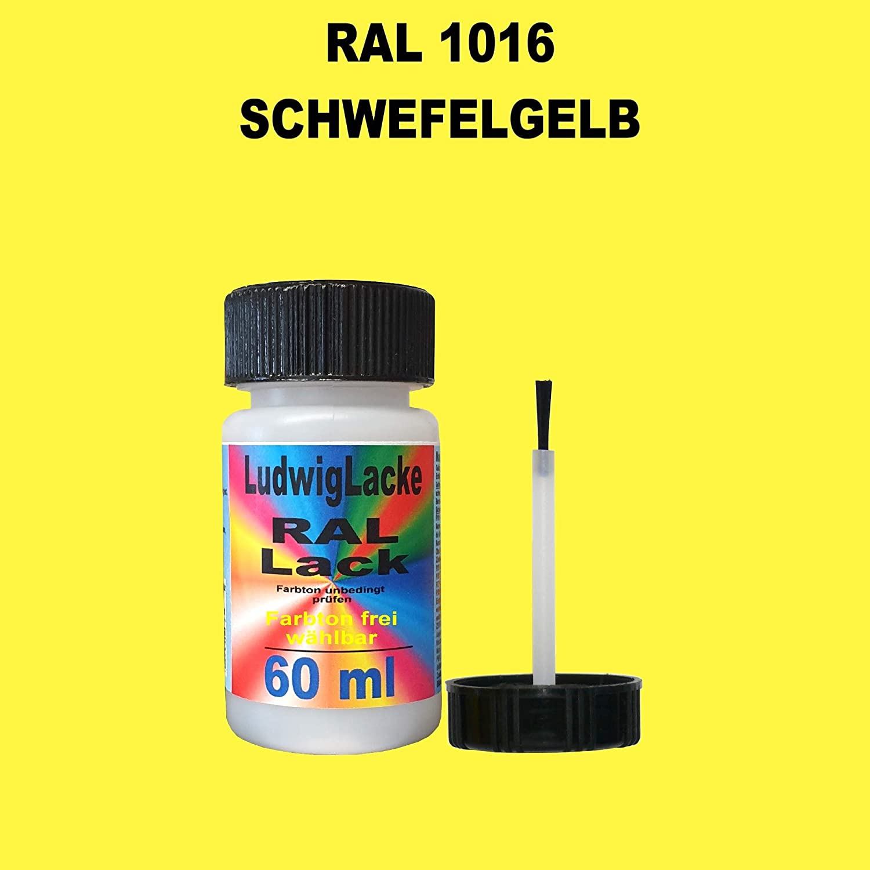 60 Ml Lackstift Mit Pinsel Im Farbton Ral 1016 Schwefelgelb Auto