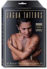 Organic Jagua Black Temporary Tattoo and Body Painting Kit. Safe for