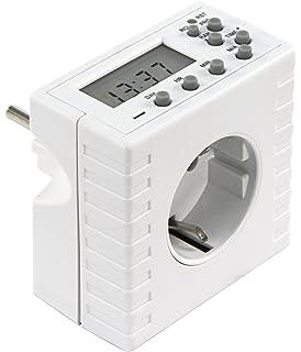 Digitale Zeitschaltuhr DSU-Compact 7 Tage digital Timer Programmierbar Steckdose