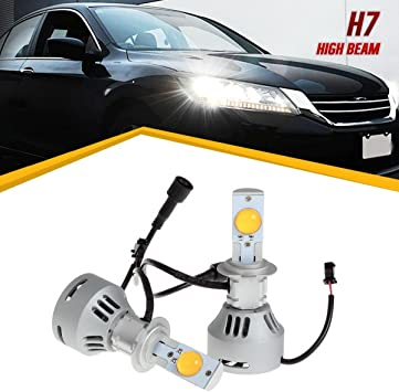 H7 LED cree Headlight Bulb KIT High Low Beam For Mercedes-Benz ML350 C300 CLA250