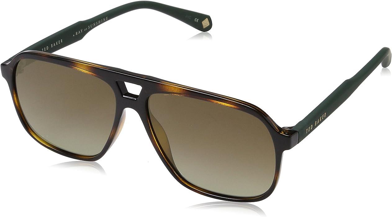 24fcc813f9 Ted Baker Sunglasses Ervin, Gafas de sol para Hombre, Marrón (Dark Tort) 58