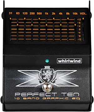 Whirlwind Perfect Ten 10-Band Graphic EQ Pedal