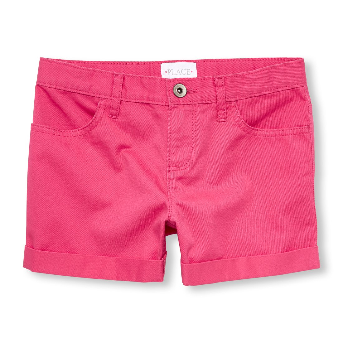 The Children's Place Big Girls' Shorts, Sweet Princess, 4