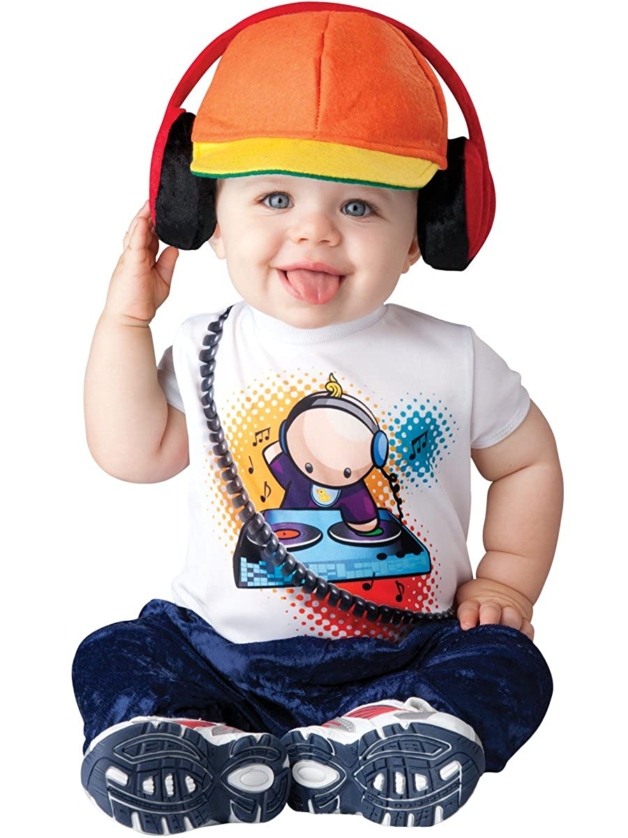 sc 1 st  Amazon.com & Amazon.com: InCharacter Baby Boyu0027s Beats DJ Costume: Clothing